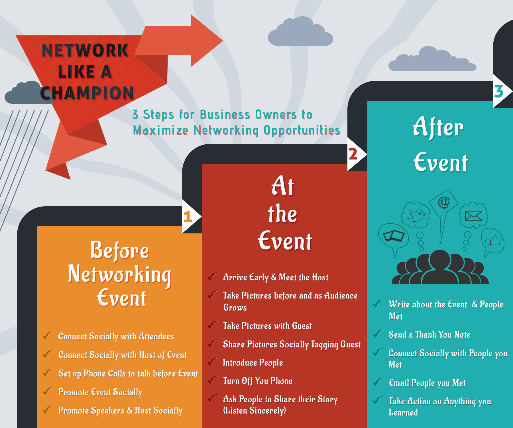 Network like a Champion